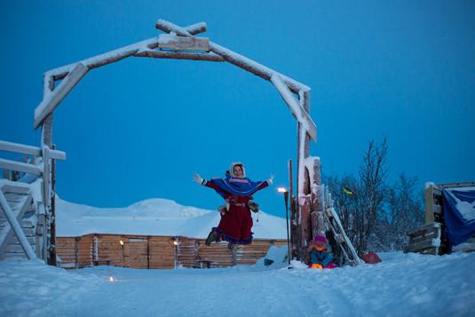 Tromso Arctic Reindeer team