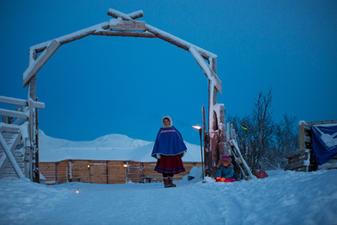 Entrance to Tromsø Arctic Reindeer camp