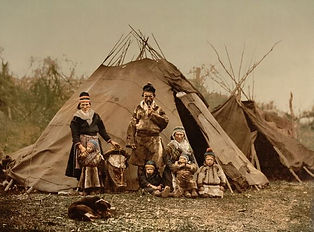 Traditional Sami outfits