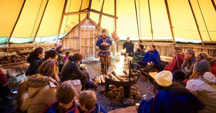 Storytelling in the lavvu