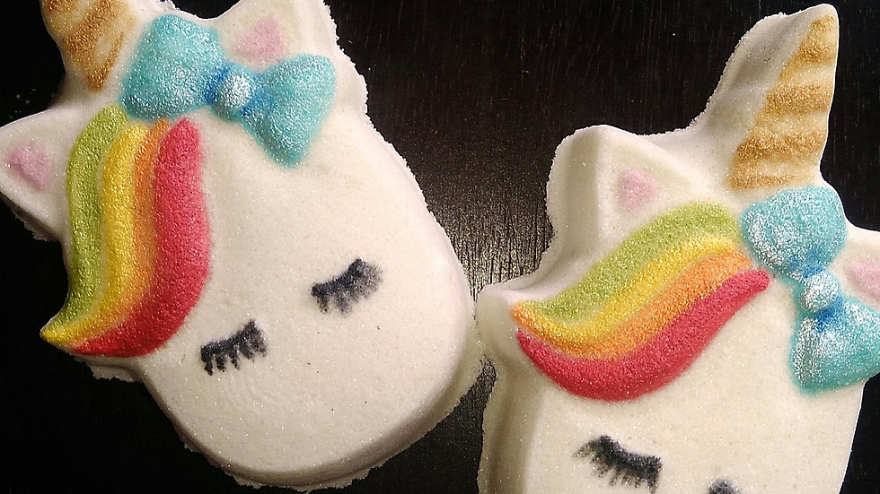 Rainbow Unicorn Bath Bomb -( 4oz/115g )