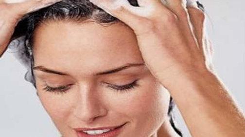 Shampoo Bar with Thyme, Chamomile & Burdock Extracts (mojito scent)