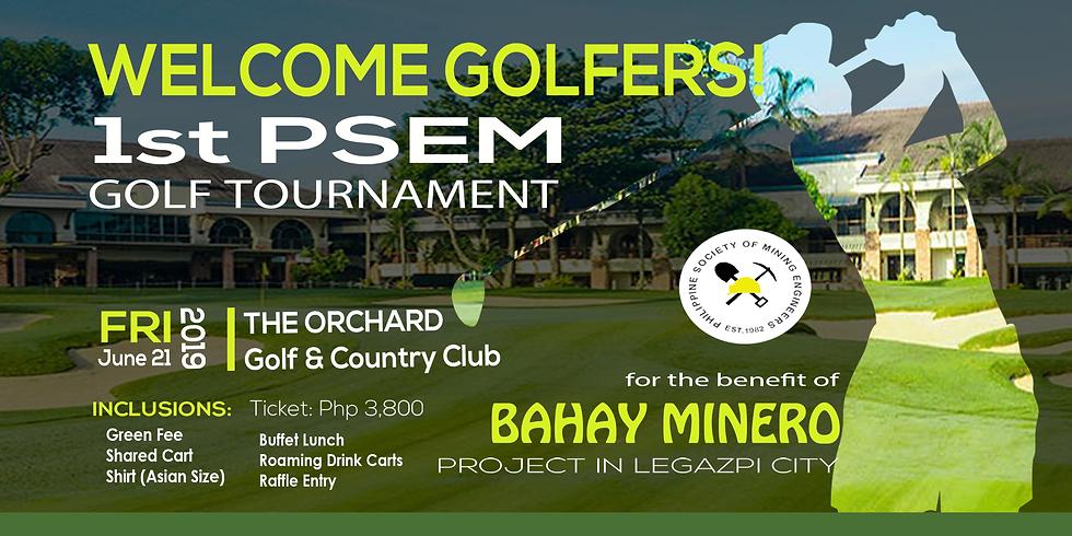 1st Annual PSEM Golf Tournament