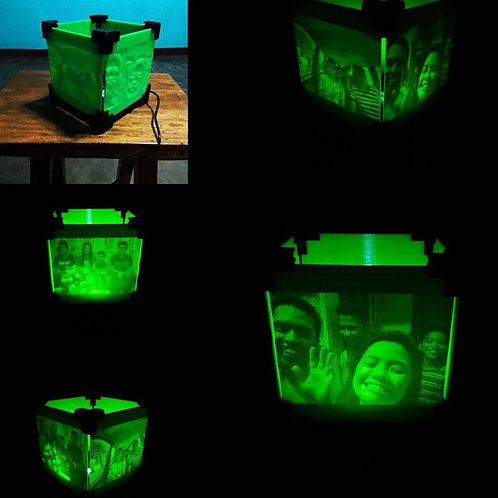 Illumi-Nighty: Cube Memory Lamp