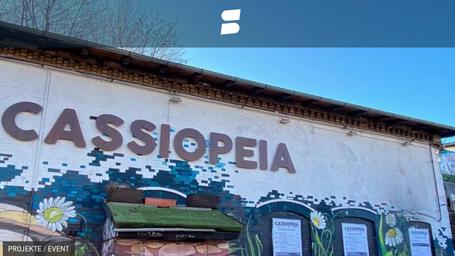 Cassiopeia startet Spendenkampagne