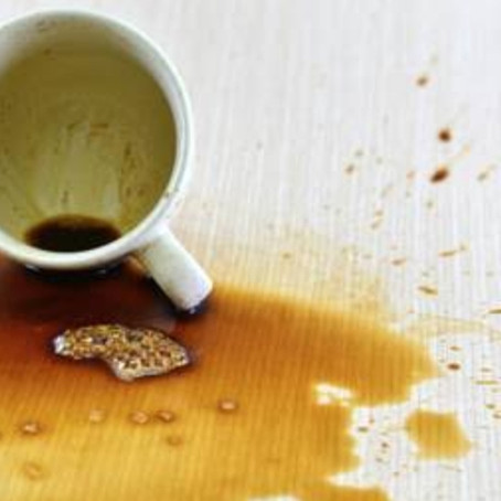 Why did you spill the coffee?