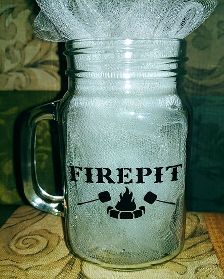 Firepit Glass Mug