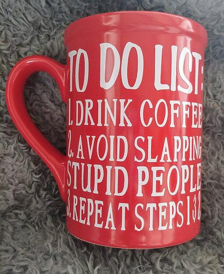 To Do List Coffee/Tea Mug