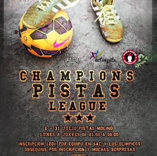Champions Pistas League