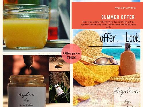Summer Skincare Set
