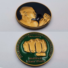 Official Police Gazette Challenge Coin
