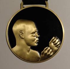 Classic Knucklehead medallion.
