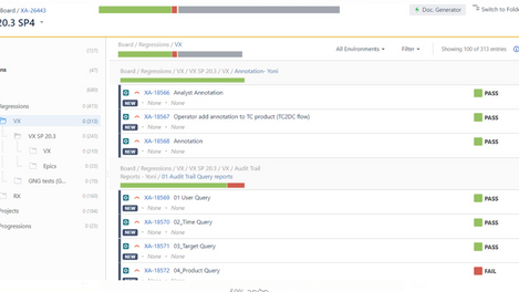 XRAY for Jira: tests status per folder in the Test Plan hierarchical view