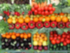 Picture of delicious natural organic foods to use as holistic medicine.