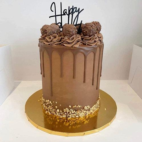 Ferraro Rocher Drip Cake