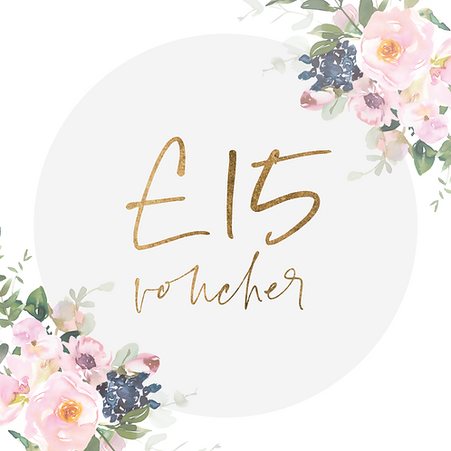 £15 Rebakers E-Voucher