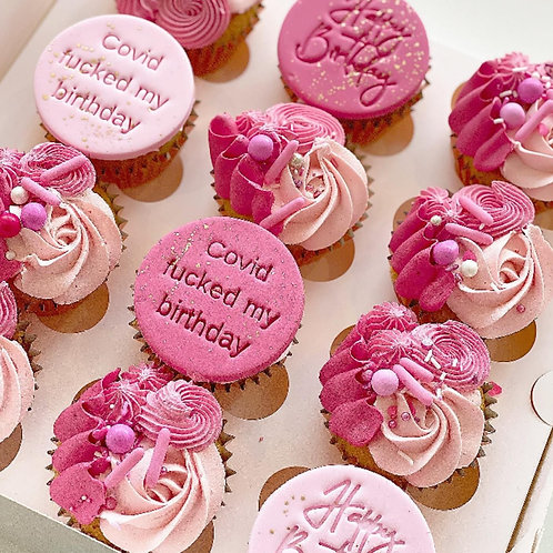 Buttercream Mix Cupcakes