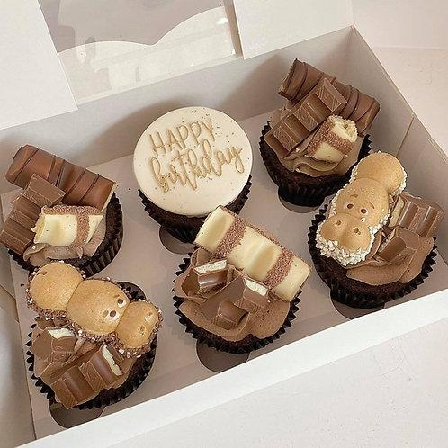 Kinder Overload Cupcakes