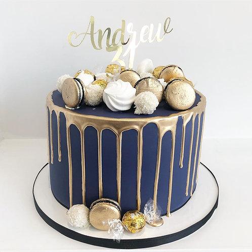 Topped Drip Cake
