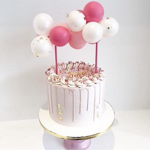 Balloon Garland Cake