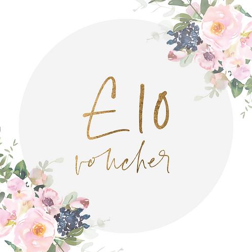 £10 Rebakers E-Voucher