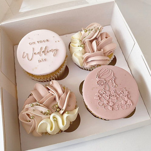 On Your Wedding Day Cupcakes
