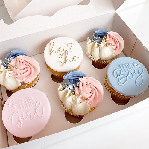 He or She? Cupcakes