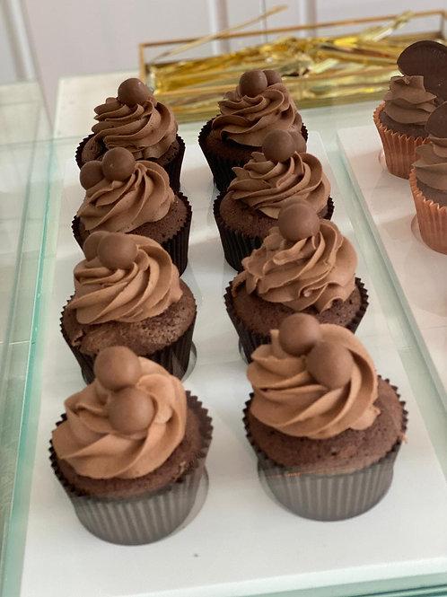 Box Of Malteser Cupcakes