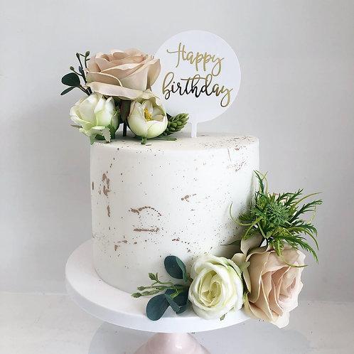 Floral Splash Cake