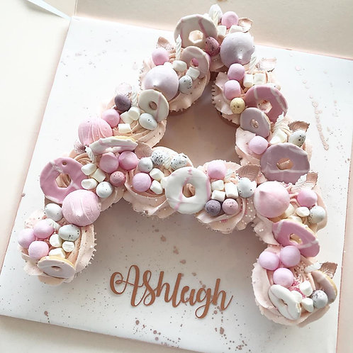 Overload Cupcake Letter