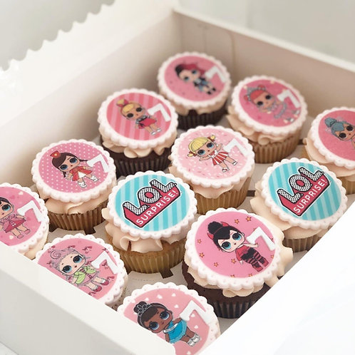 Character Theme Cupcakes