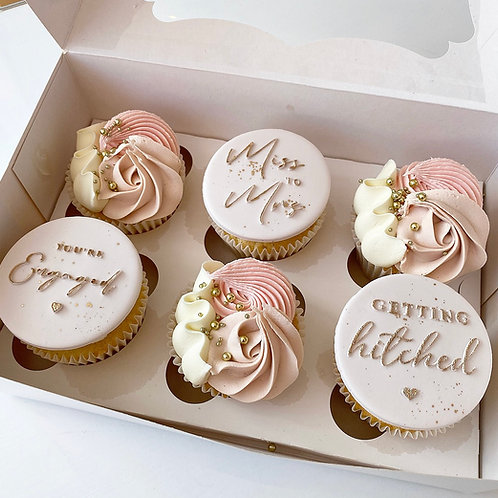 Getting Hitched Cupcakes