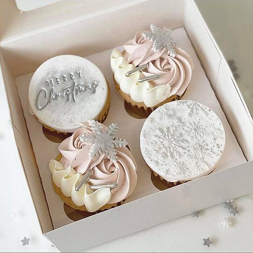 Snow Fairy Cupcakes