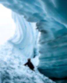 Whistler Ice Cave on Blackcomb Mountain