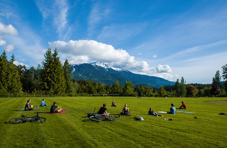 Yoga in Whistler, B.C.