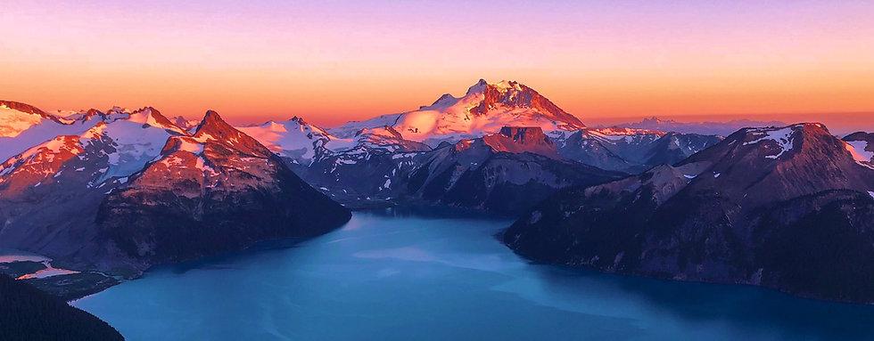 Panorama Ridge Sunset Whistler B.C.