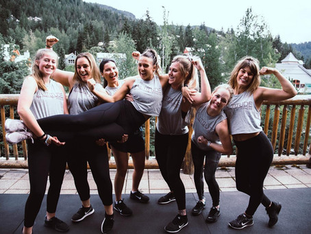 Introducing BootyCamp - Whistler's first all-female bootcamp!