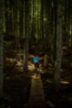 Mountain Biking in Whistler, B.C.
