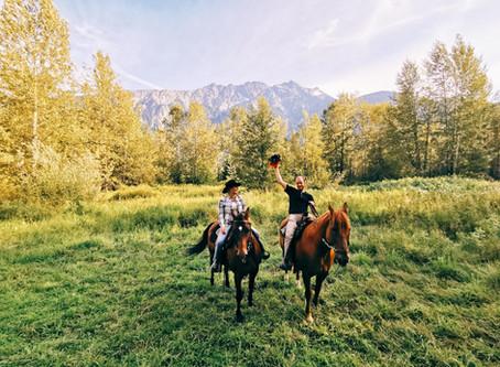 Adventures on Horseback - A True Pemberton Cowboy Experience