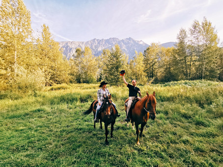 Adventures on Horseback - A True Pemberton Cowboy Experience