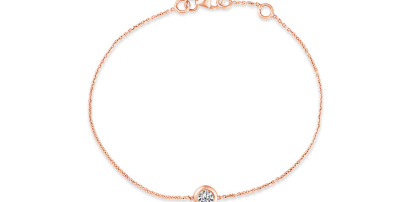 Single Diamond Bracelet