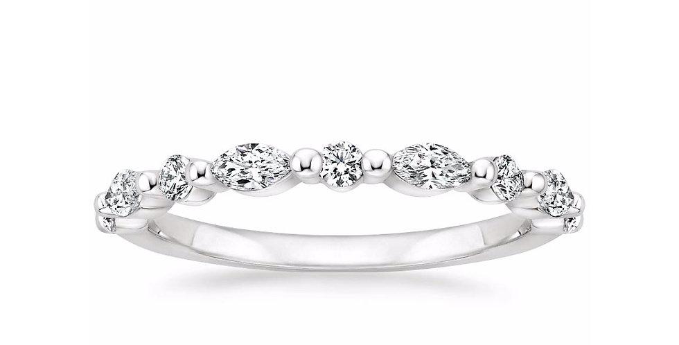 """OLIVIA"" DIAMOND ETERNITY RING (3/8 CTW)"