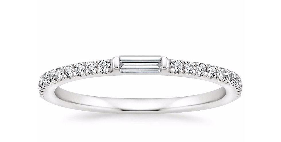 """ABIGAIL"" DIAMOND WEDDING RING"
