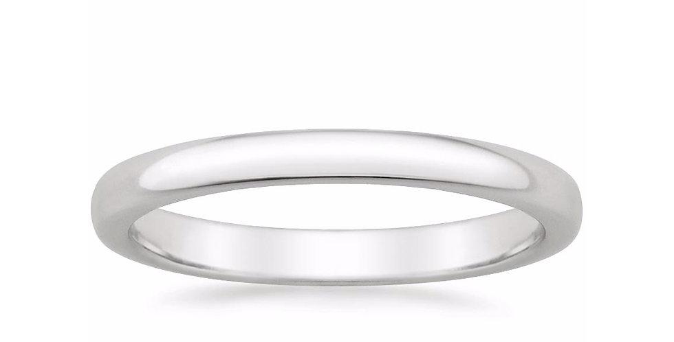 CLASSIC WEDDING RING (2.5 MM)