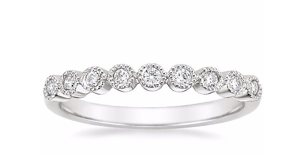 """ALEXE"" DIAMOND WEDDING RING"