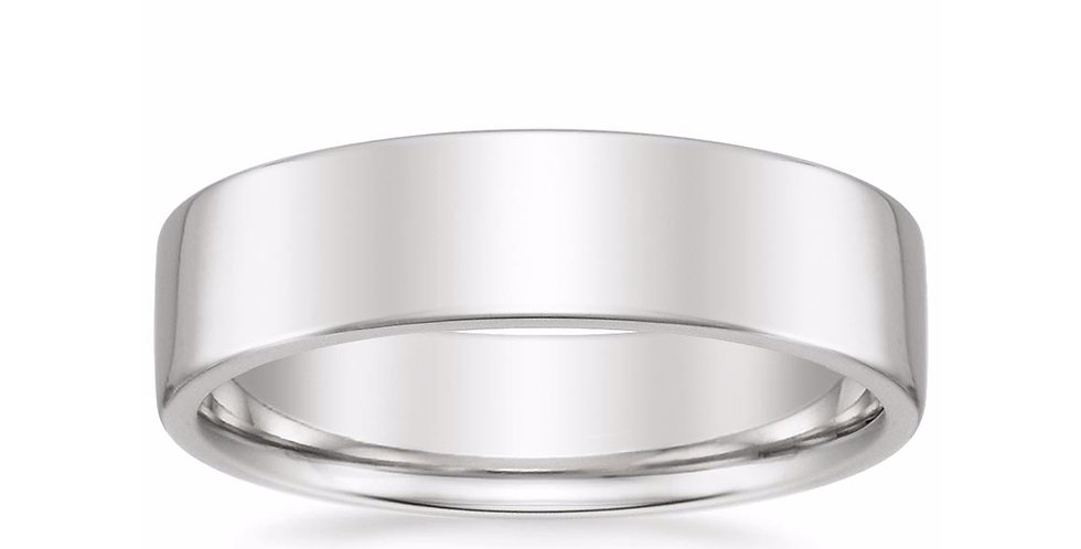 """CARTER"" LOW PROFILE WEDDING BAND (6 MM)"