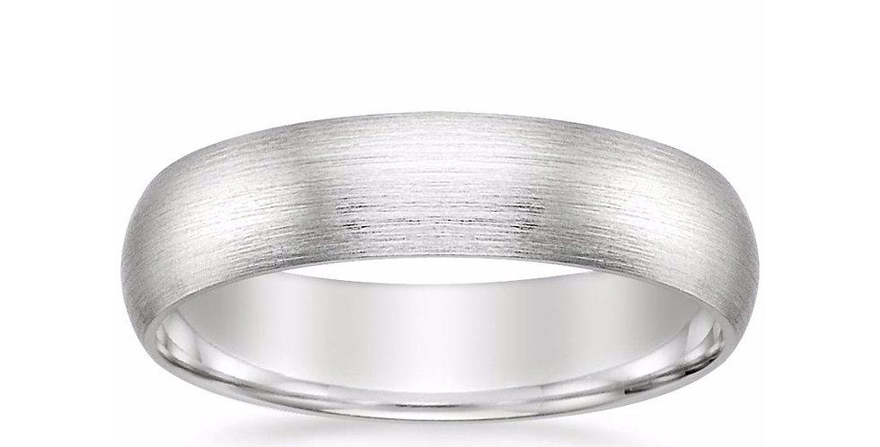 MATTE CLASSIC WEDDING RING (5 MM)