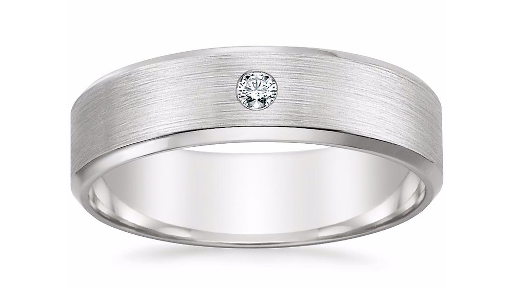 """NOAH"" DIAMOND WEDDING RING"