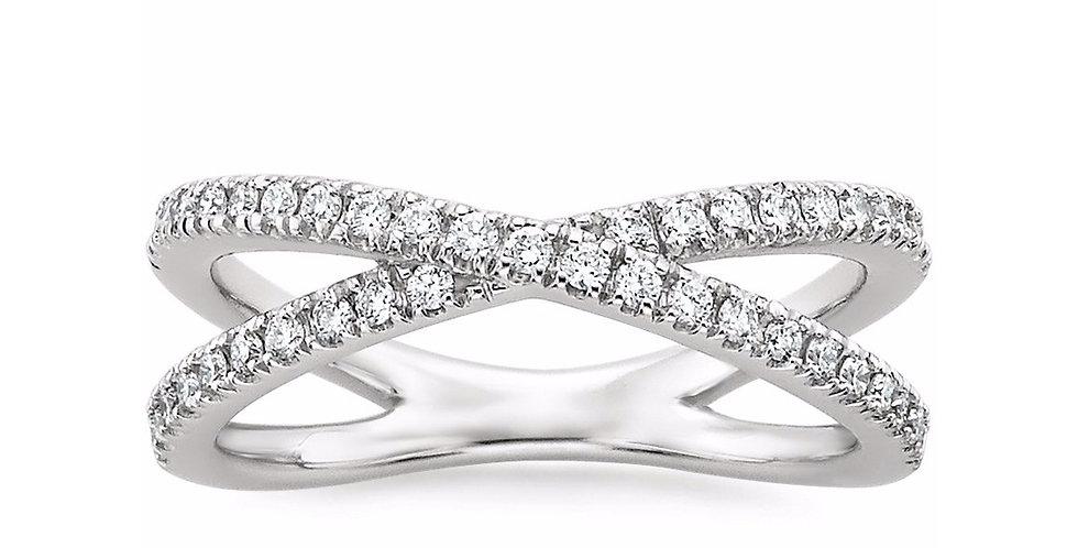 """VICTORIA"" DIAMOND WEDDING RING"