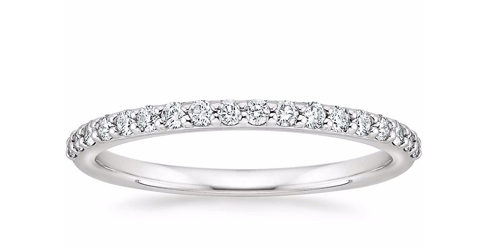 """AVA"" SHARED PRONG DIAMOND ETERNITY RING (1/4 CTW)"